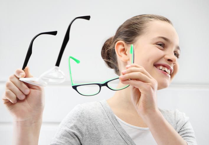 ae1e0d58d Výber vhodných dioptrií určí oftalmológ. Foto: Thinkstock