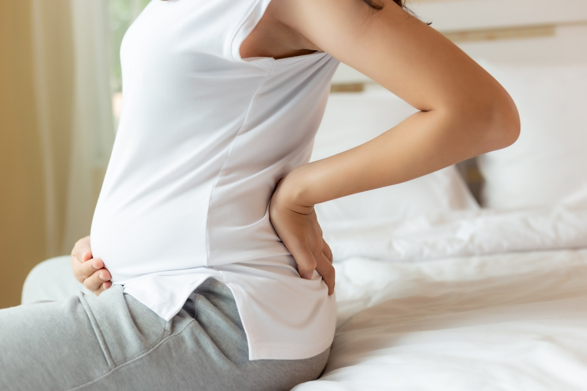 Bolesti chrbta a krížov v tehotenstve. Zdroj: Getty Images