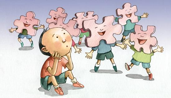 Poruchy autistického spektra v kocke