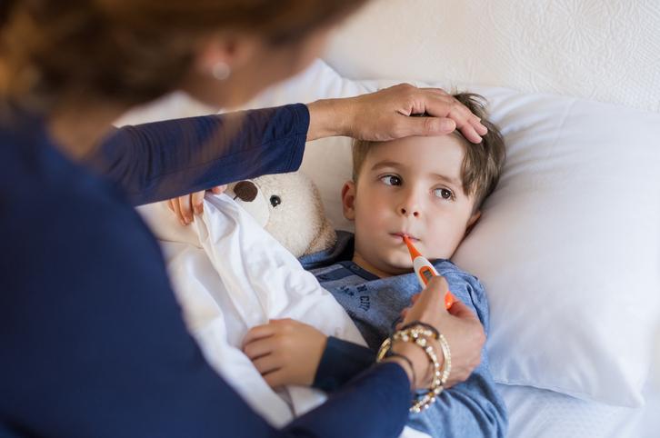 Chrípka u detí
