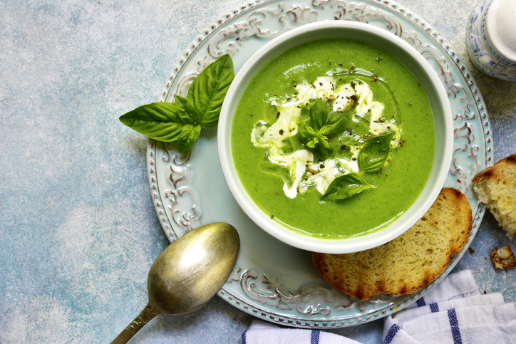Jednoduchá a zdravá špenátová polievka. Aký je náš recept?