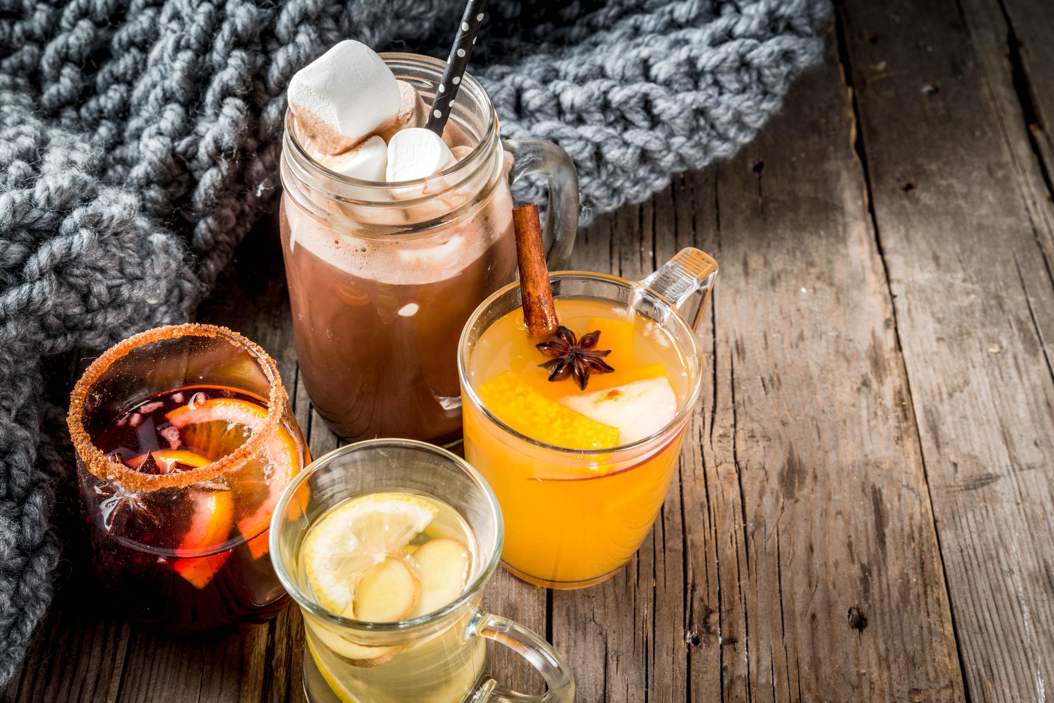 Jesenné horúce nápoje na zahriatie aj podporu imunity počas sychravých dní