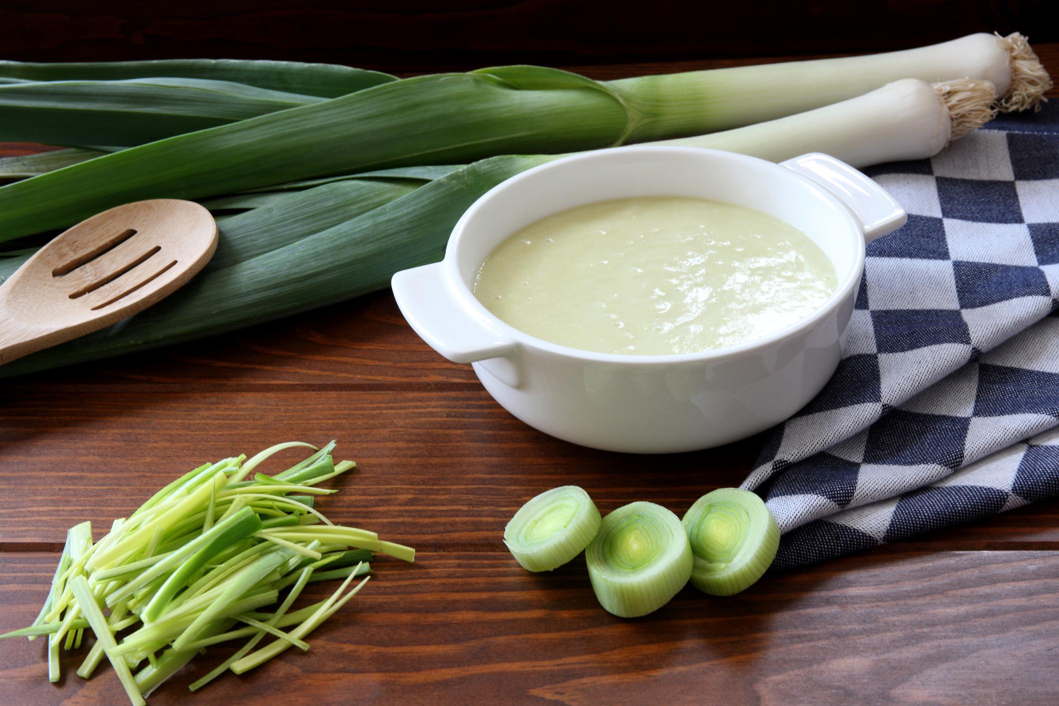 Pórová polievka prospešná nášmu telu. Skúste náš jednoduchý recept