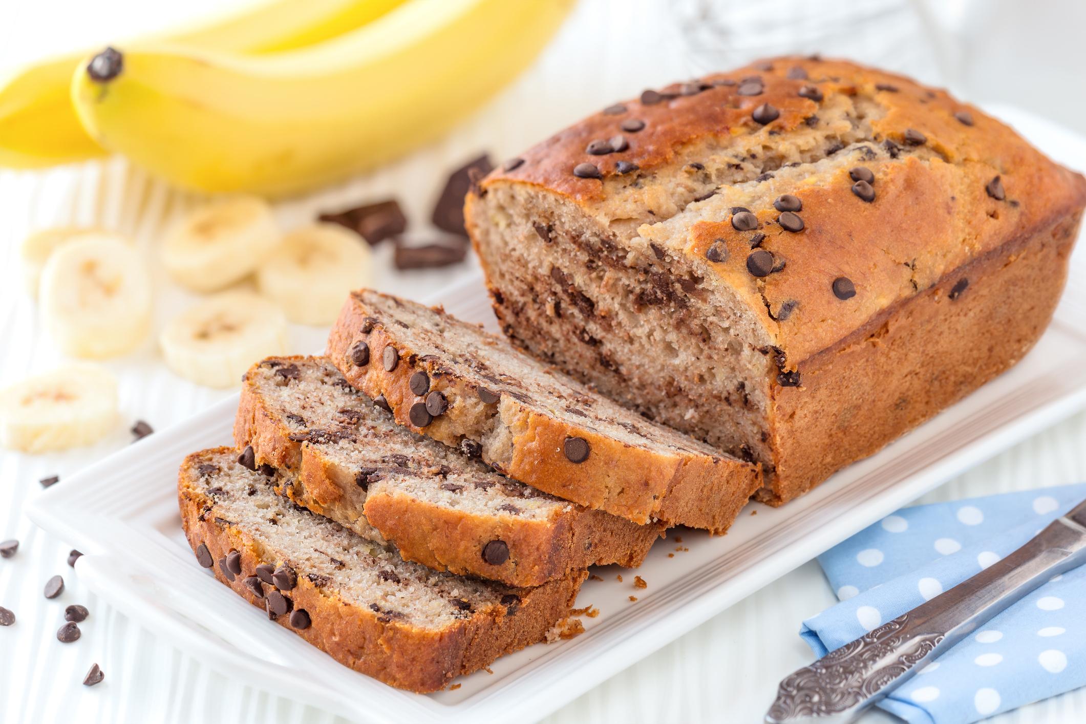 Recept na chutný a zdravý banánový chlieb