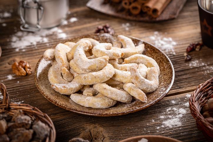Recept na zdravé a jednoduché vanilkové rožteky vhodné pre celiatikov