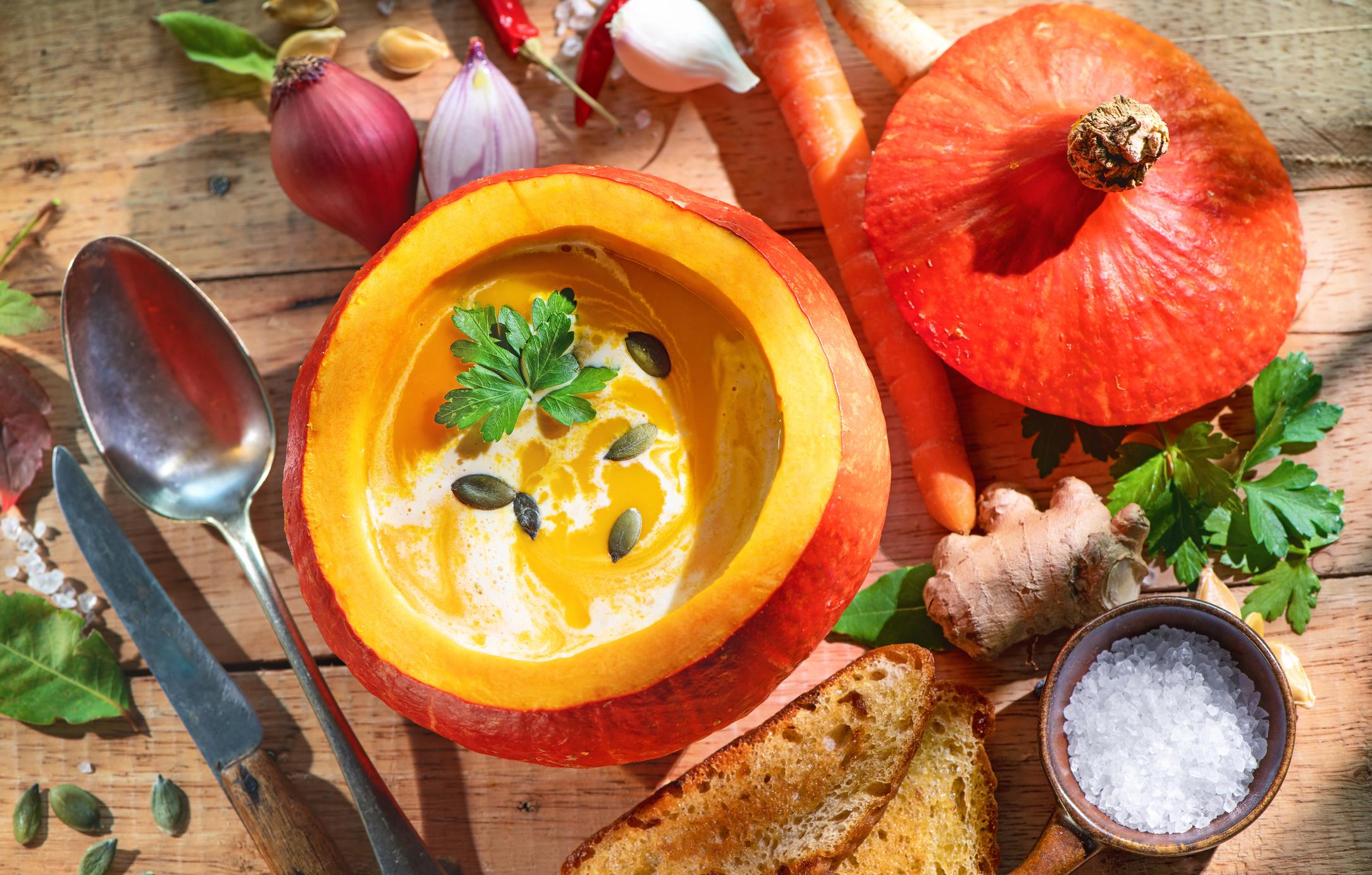 Zdravá hokkaido polievka pre alergikov. Poznáte tento recept?